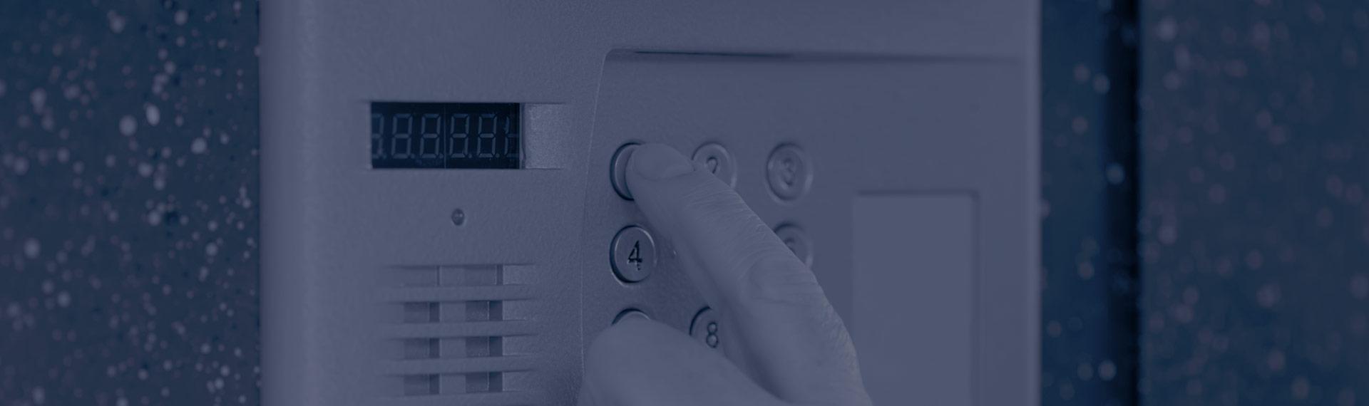 Alarmes para casas e para lojas